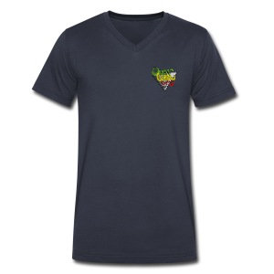 V-Neck OGs mini logo - Men's V-Neck T-Shirt by Canvas