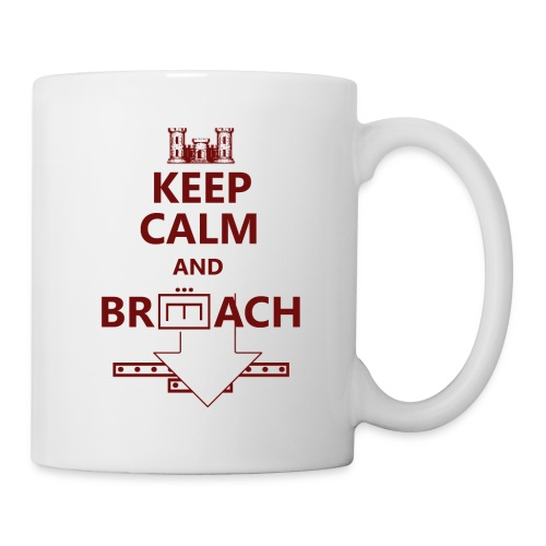 BREACH RED LETTERING - Coffee/Tea Mug