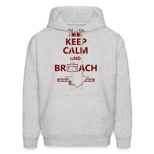 BREACH RED LETTERING - Men's Hoodie