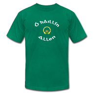 T-Shirts ~ Men's T-Shirt by American Apparel ~ Allen Family Claddagh Tee for Men