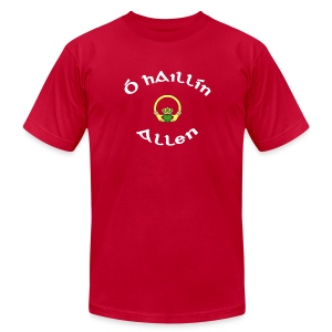 Allen Family Claddagh Tee for Men - Men's T-Shirt by American Apparel