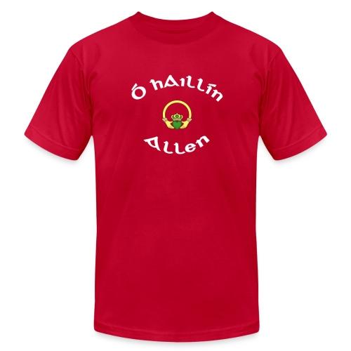 Allen Family Claddagh Tee for Men - Men's Fine Jersey T-Shirt