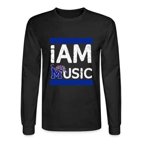 Stacked Long-sleeved Tee - Men's Long Sleeve T-Shirt