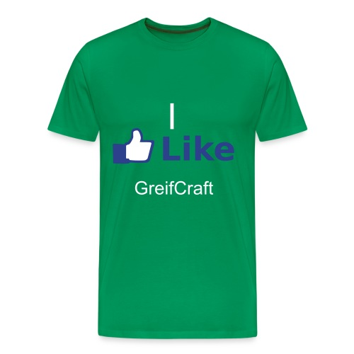 I Like Greifcraft - Men's Premium T-Shirt