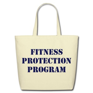 Fitness Protection - Tote - Eco-Friendly Cotton Tote