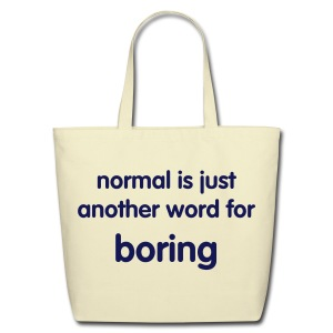 Boring - Tote - Eco-Friendly Cotton Tote