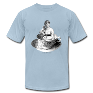 T-Shirts ~ Men's T-Shirt by American Apparel ~ Article 13819057