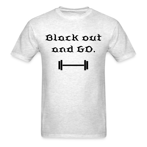 Blackout Tee - Men's T-Shirt