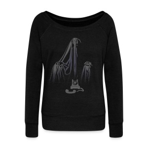 Story of the Ghost  - Women's Wideneck Sweatshirt