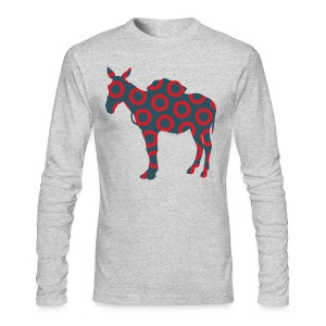 Scent of a Mule ( Fish print ) - Men's Long Sleeve T-Shirt by Next Level