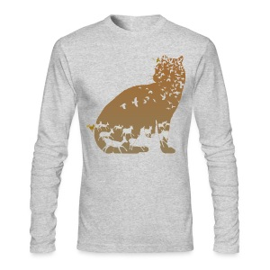 Ocelot - Men's Long Sleeve T-Shirt by Next Level