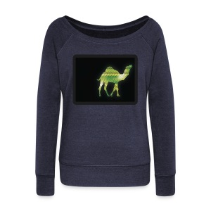 Camel Walk - Women's Wideneck Sweatshirt