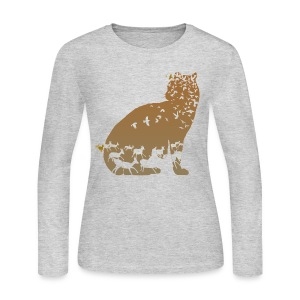 Ocelot - Women's Long Sleeve Jersey T-Shirt