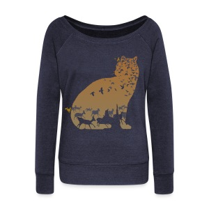 Ocelot - Women's Wideneck Sweatshirt