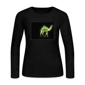 Camel Walk - Women's Long Sleeve Jersey T-Shirt