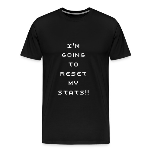 Stat reset - Men's Premium T-Shirt