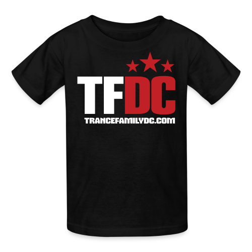 TFDC Kids [White Logo] - Kids' T-Shirt