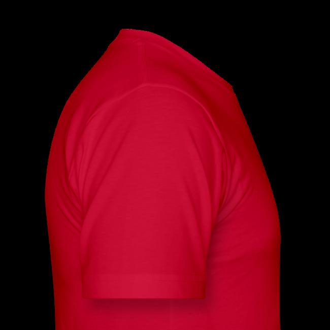 Hot Red [M - White Logo]