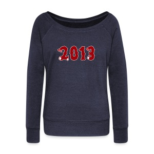 2013 - Women's Wideneck Sweatshirt