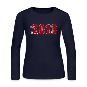 2013 - Women's Long Sleeve Jersey T-Shirt
