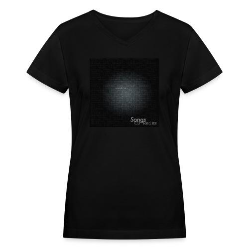goddess t - Women's V-Neck T-Shirt