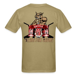 Team Fox w/RED Front Lettering - Men's T-Shirt