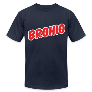 Brohio - Men's T-Shirt by American Apparel