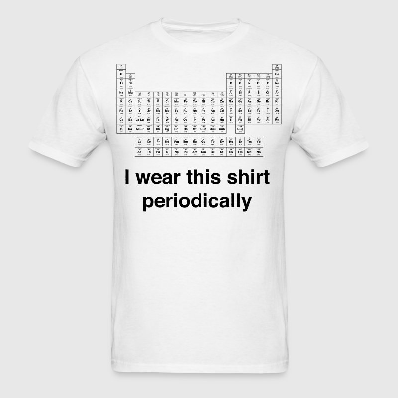 Periodic Wear - Men's T-Shirt