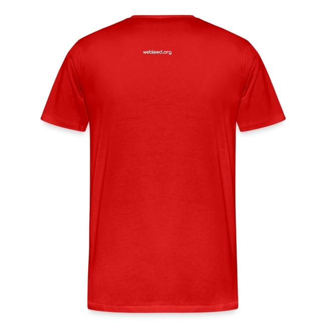 #doUbleed T-shirt