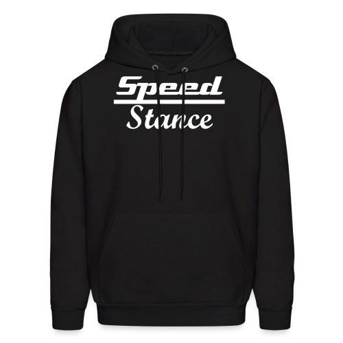 Speed over Stance Hoodie (White Font) - Men's Hoodie