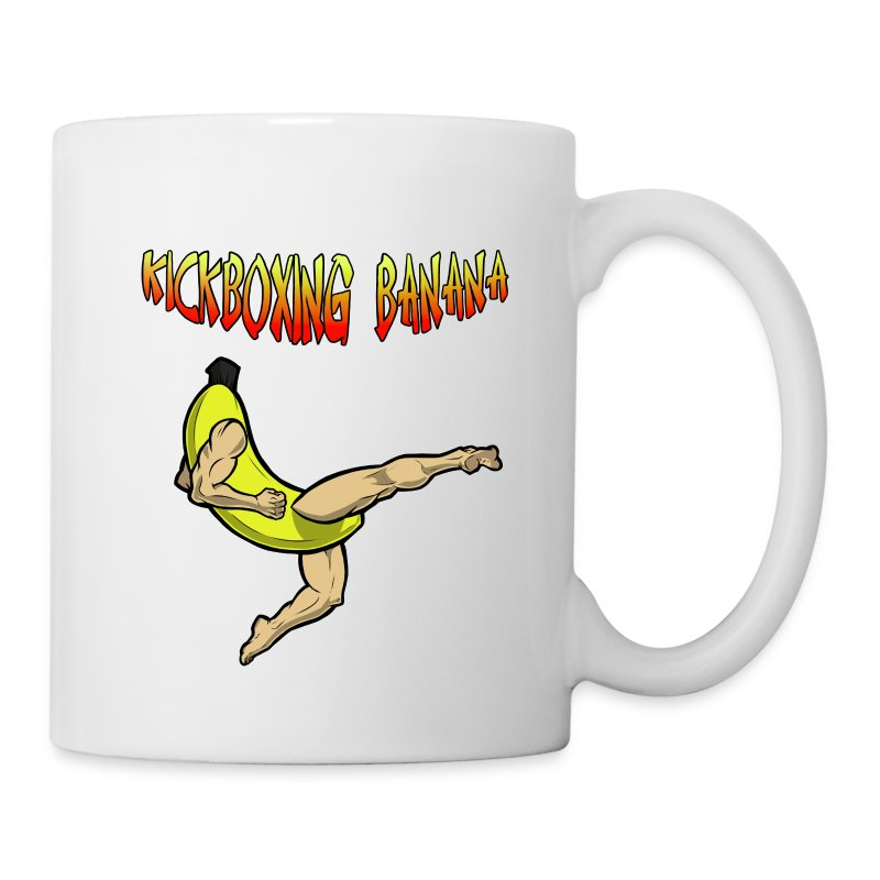 Kickboxing Banana Design #2 - Coffee/Tea Mug