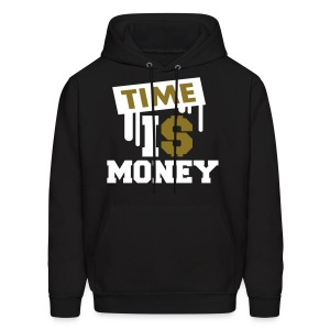 Time Is Money - Men's Hoodie