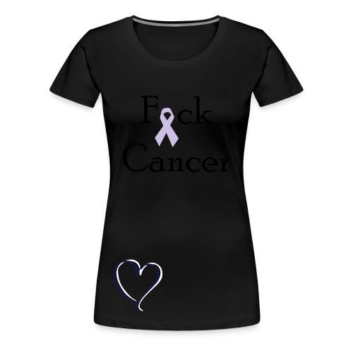 Fuck Cancer - Women's Premium T-Shirt