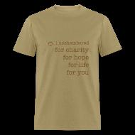 T-Shirts ~ Men's T-Shirt ~ I Noshembered Dude's Tee with Noshember.com Logo