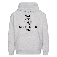 Hoodies ~ Men's Hoodie ~ Noshember Dude's Hoodie - Keep Calm