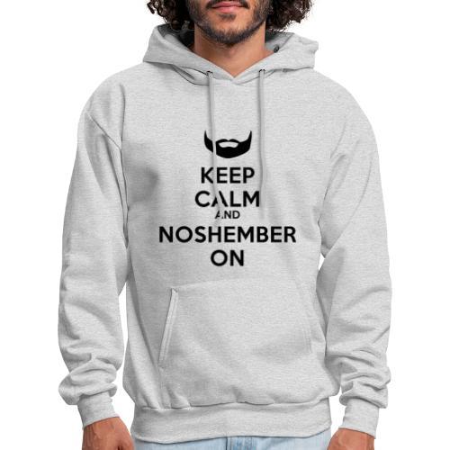 Noshember Dude's Hoodie - Keep Calm - Men's Hoodie