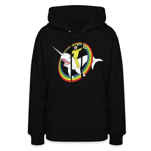 White Narwhal - Women's Hoodie