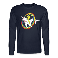 Long Sleeve Shirts ~ Men's Long Sleeve T-Shirt ~ Walter White Narwhal