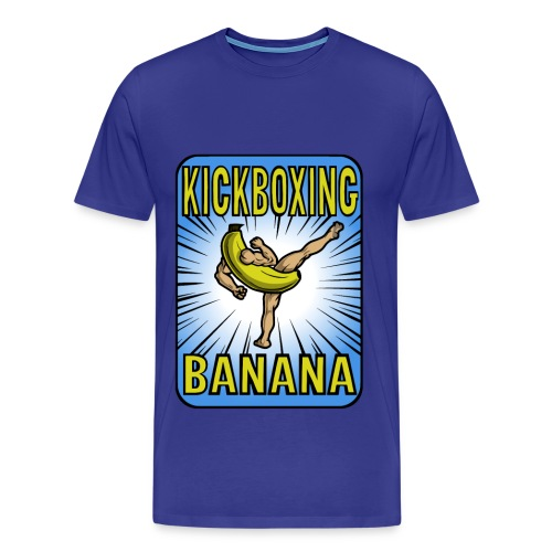 Kickboxing Banana Design #3 - Men's Premium T-Shirt
