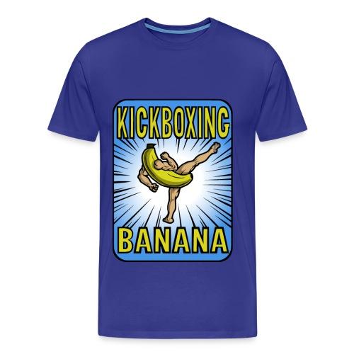 Kickboxing Banana Design #3 - Men's Premium T-Shirt