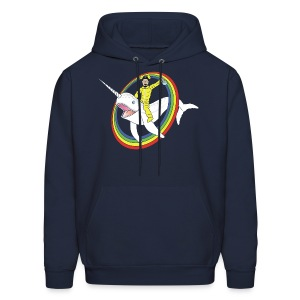 White Narwhal - Men's Hoodie