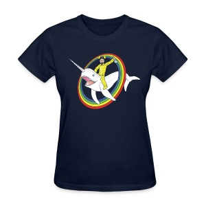White Narwhal - Women's T-Shirt