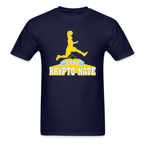 Krypto-Nate - Mens T-Shirt - Men's T-Shirt