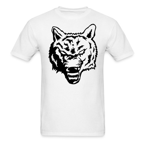 The angry wolf - Men's T-Shirt