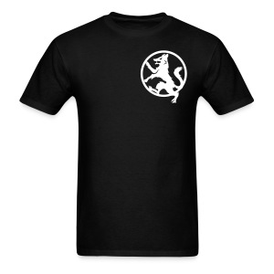 Wolf black/white logo - Men's T-Shirt