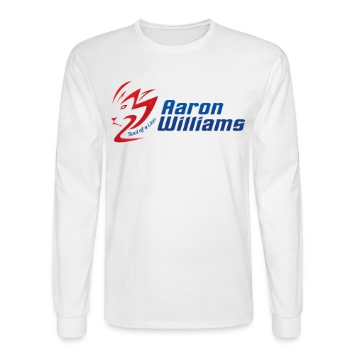 Official Aaron Williams Long Sleeve T-shirt - Men's Long Sleeve T-Shirt