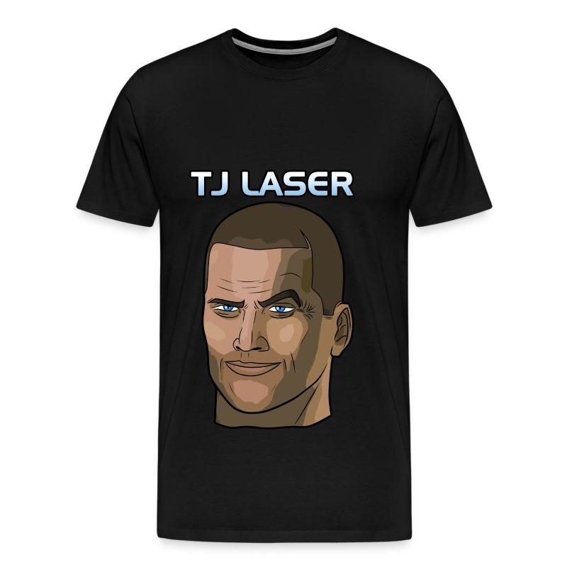 TJ Laser Design #2 - Men's Premium T-Shirt