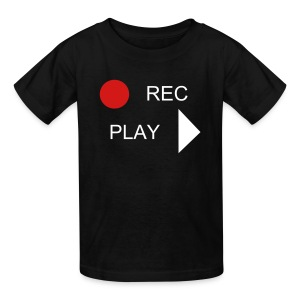 REC PLAY - Kids' T-Shirt