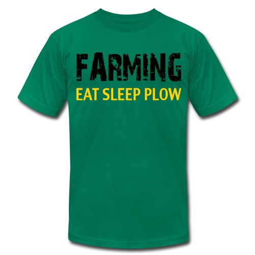 Farming Eat Sleep Plow US/Canada - Men's Fine Jersey T-Shirt