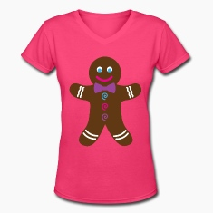 Pink Gingerbread Cookie T-Shirt